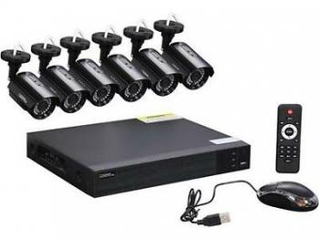 Q-See 8-Ch. 6-FHD 1080p Security System