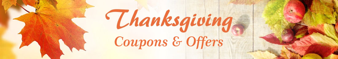 Thanksgiving Coupons & Offers