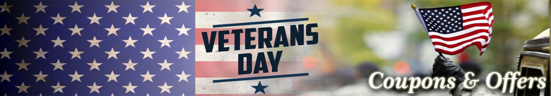 Veterans Day Coupons & Offers