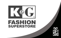 K&G Fashion Superstore Gift Cards