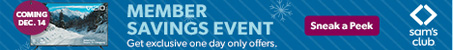 One Day Sale  SamsClub.com