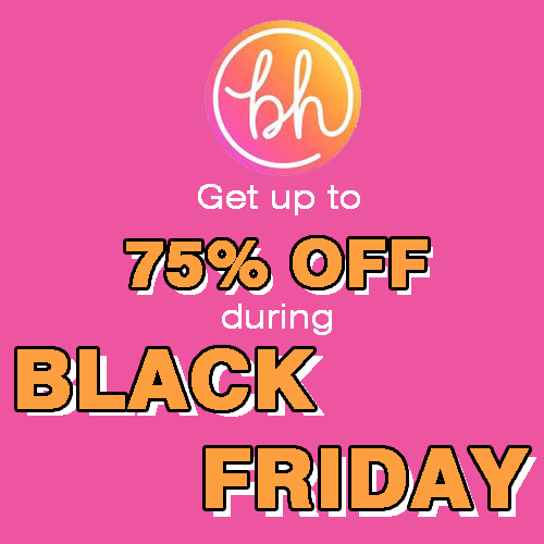 BHCosmetics Black Friday Sale: Up to 75% off on Sitewide