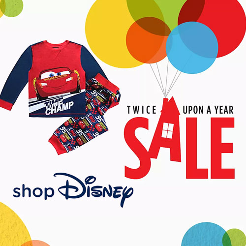 Up to 40% off on Twice Upon a Year Sale at shopDisney