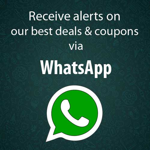 Receive Deal Alerts via WhatsApp